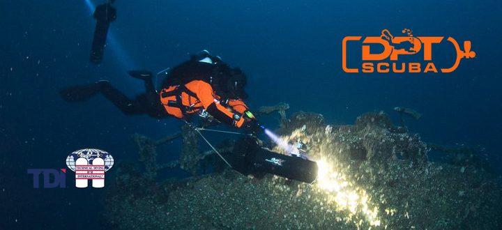 DPTScuba JJ-CCR technical wreck diver